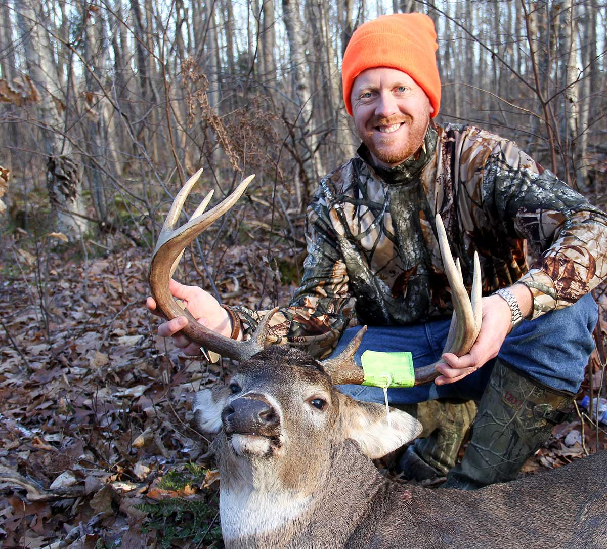 Bill Rider with the deer