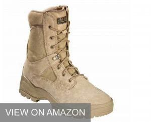 Zippered boots for correctional officer