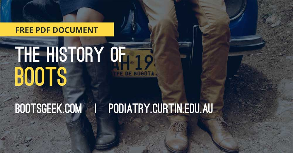 History of boots free PDF document