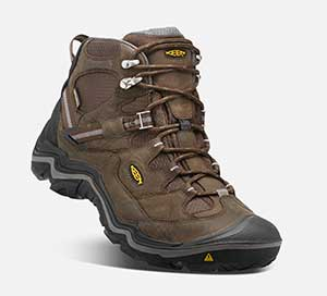 Keen Durand Waterproof mid hiking Boot Review