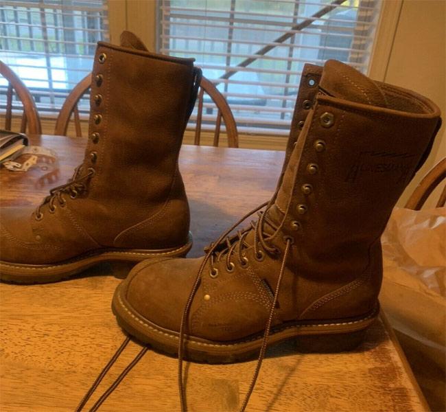 carolina linesman boots design
